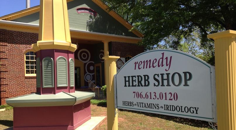 Remedy <br /><em>Herbal Pharmacy</em>